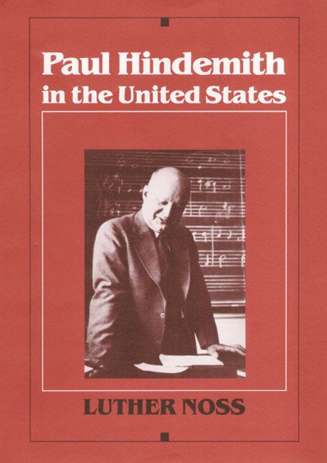 Paul Hindemith in the United States