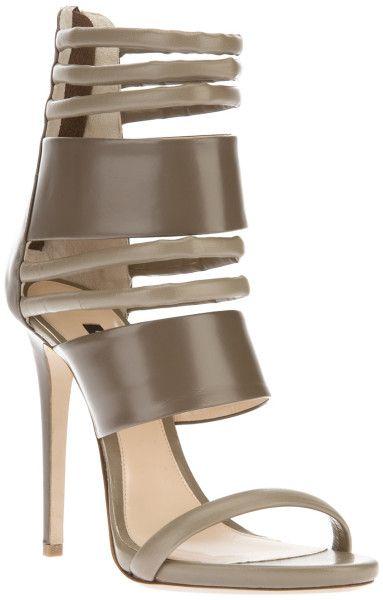 RUTHIE DAVIS® Gray Strappy Stiletto Sandal @Lyst