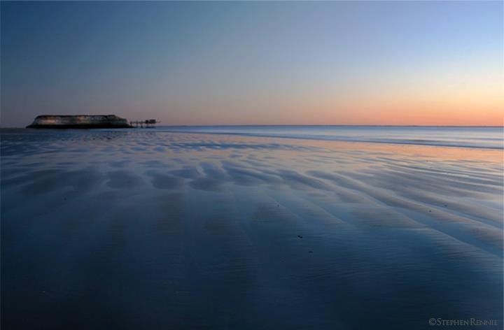 Estuary dreams, France.