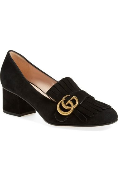 Gucci Marmont Pump (Women) available at #Nordstrom