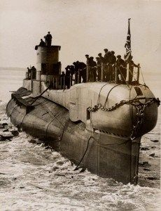 HMS Triumph (Photo provided by the Royal Navy Submarine Museum).HMS Triumph, lost with all hands in January 1942
