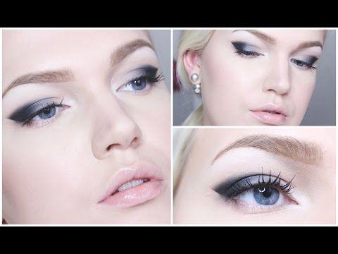 Helppo silmämeikki aloittelijoille - Dramaattiset silmät - YouTube
