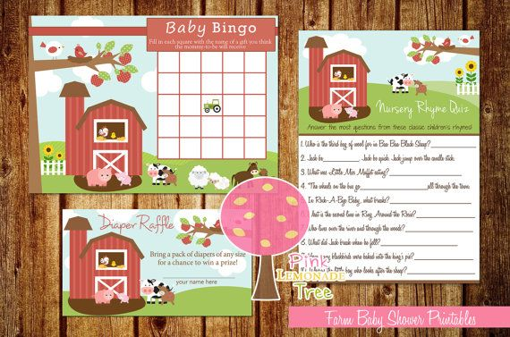 barnyard baby shower invitations farm theme baby shower