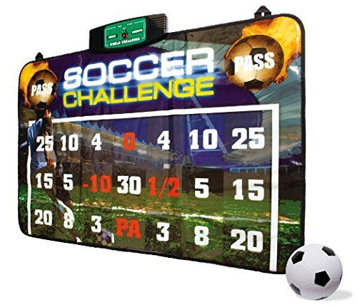 Soccer Challenge Perfect Goal With score keeper. Bring home kids & adults favorite sport game, select from 2 modes single player or 2 player. Made of top quality and makes an amazing gift.