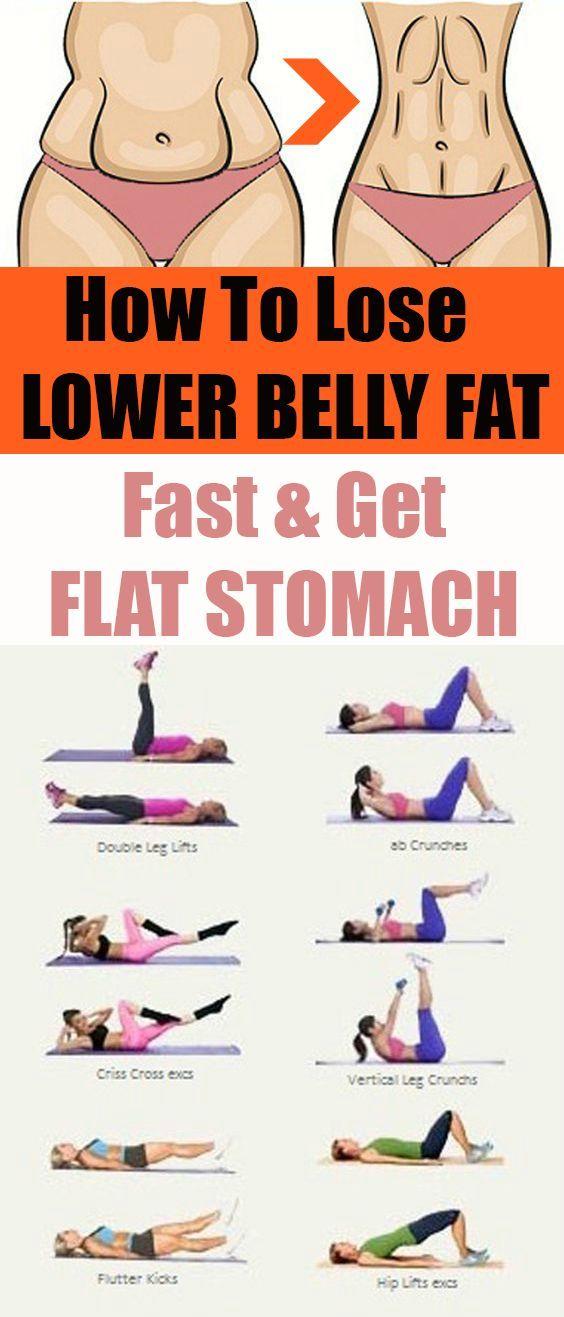 Wie zu verlieren Bauchfett (10 besten Ab Workouts)…
