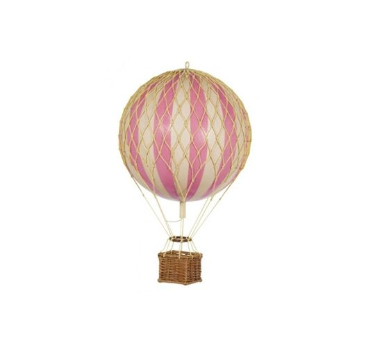 Luftballon, Travels Light 18 cm, rosa, 600 svenske kr.