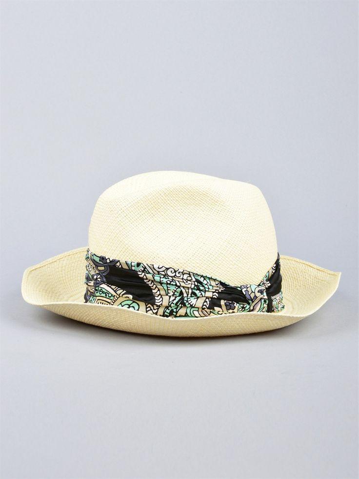 Panama style: Lanvin hat. Only on Marty Shop http://www.martyshop.it/it/201168-Accessori/2014185-Cappello-di-paglia-Lanvin.aspx
