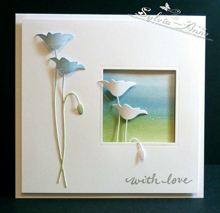 so pretty..... card by Sylvia-Anne