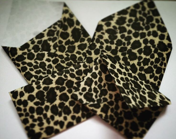 A personal favorite from my Etsy shop https://www.etsy.com/ca/listing/491280241/envelopes-envelope-set-origami-cheetah