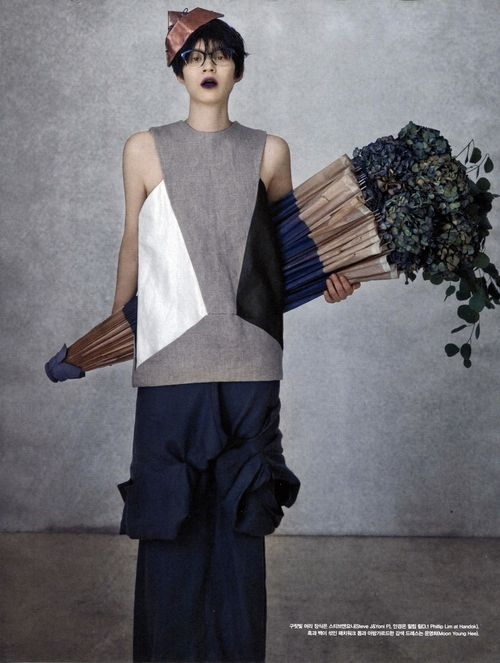'miss invisible'- photographer : Bon Chang Koo- Vogue Korea April 2013