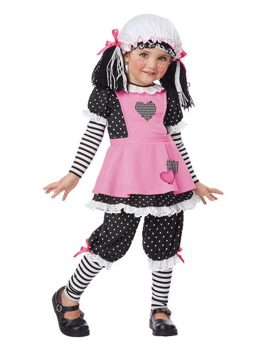 toddler rag doll costume cartoon characters u003e raggedy ann cartoon characters costumes
