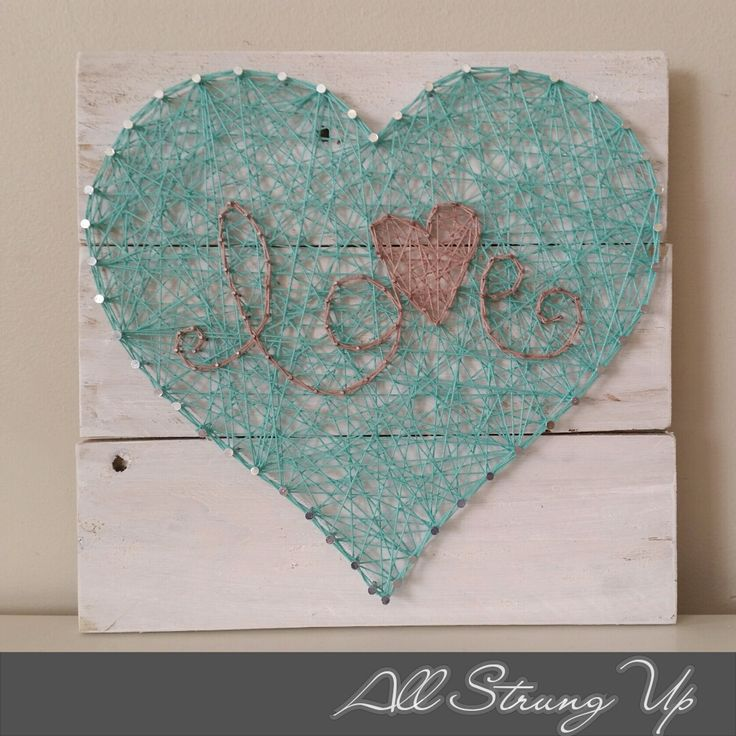 Thanks for looking. Love heart, String Art, Made by hand with love in NSW, Australia. Find the rest of my pictures at the following places. Find my website at www.allstrungup.com.au Find me on Instagram at https://www.instagram.com/all_strung_up/ Find me on Facebook at https://www.facebook.com/All-Strung-Up-915873695199667/?ref=hl