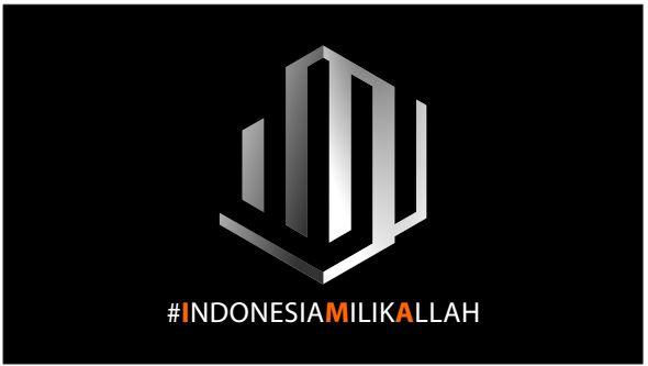 Logo #IndonesiaMilikAllah
