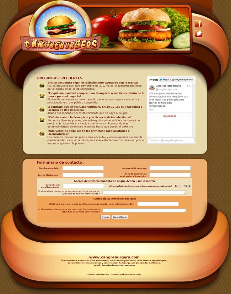 OPORTUNIDAD PARA EMPRENDEDORES: Franquicias y Licencias de la marca Cangreburgers para ocuparla en restaurantes en Mexico