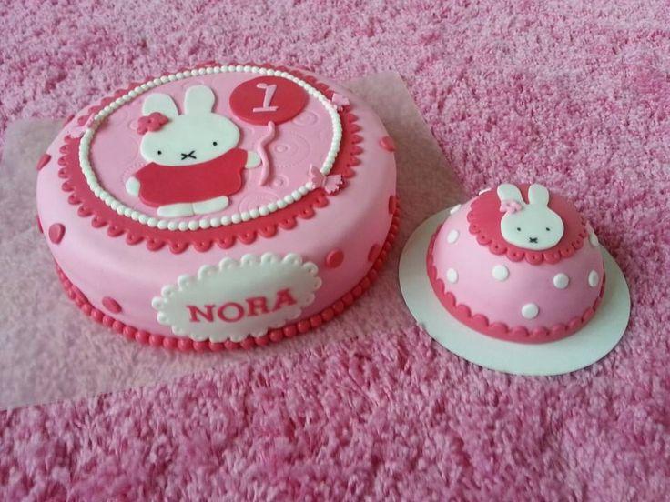 Nijntje taart   eigen gemaakte taarten en cupcakes   Pinterest