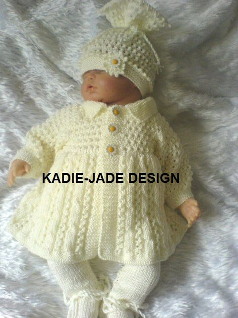 No 19 KADIE-JADE KNITTING PATTERN