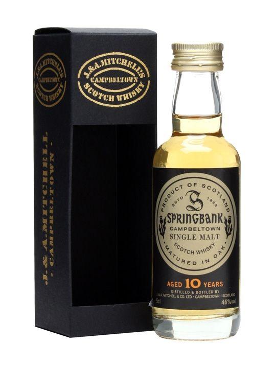 Review #3: Springbank 10 #scotch #whisky #whiskey #malt #singlemalt #Scotland #cigars
