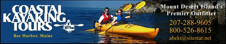 Coastal Kayaking Tours - Bar Harbor Maine - Exciting tours ranging from sunset and harbor trips, to multi-day island camping tours