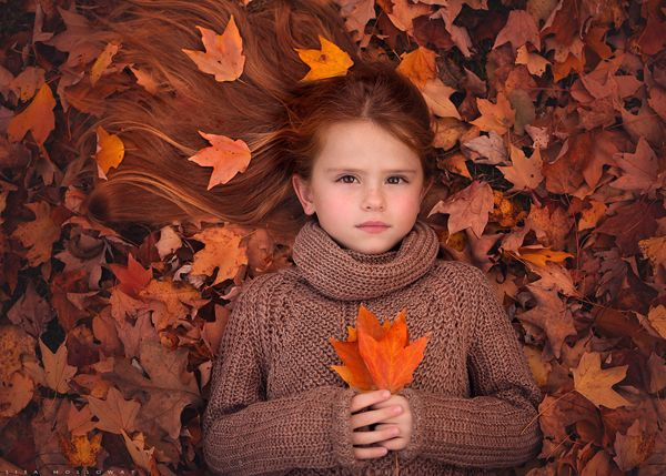 Autumn Song - Children Photography by Lisa Holloway  <3 <3