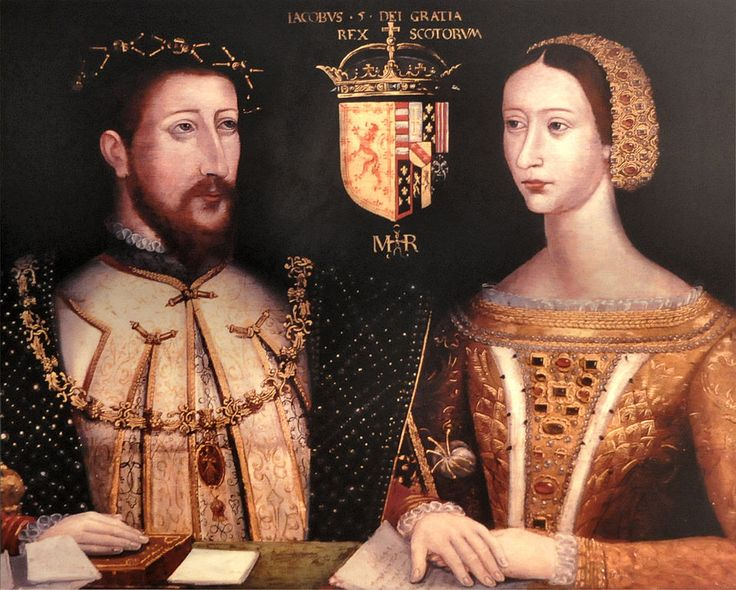 James V of Scotland and Mary of Guise, parents of Mary, Queen of Scots