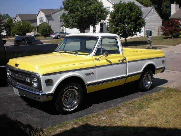 1972 Chevy C10 Shortbed 67 72 Chevy Trucks Pinterest