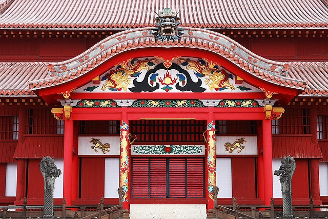 Syuri-castle #japan #okinawa