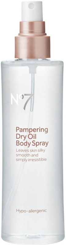 Boots No7 Pampering Dry Oil Body Spray Ulta.com - Cosmetics, Fragrance, Salon and Beauty Gifts