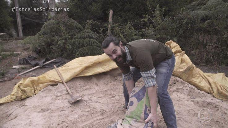 Estrelas   Carmo Dalla Vecchia ajuda na construção de escola verde   Globo Play