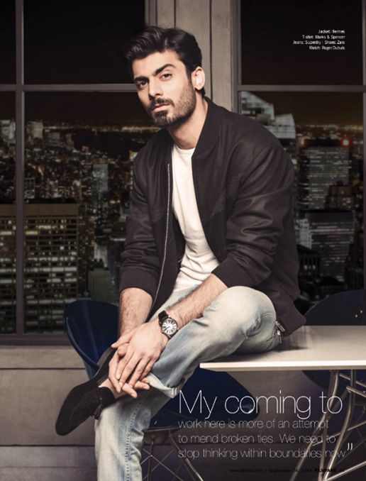 Fawad Khan, oh you.