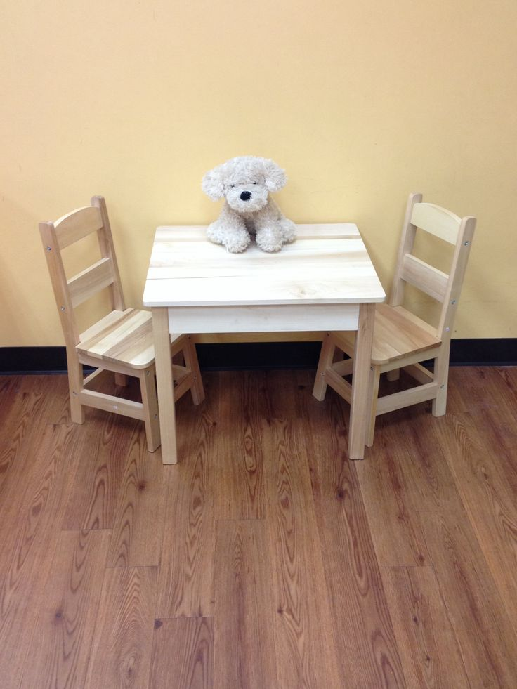 Melissa and Doug Wooden Table and Chair set! Kid to Kid ...
