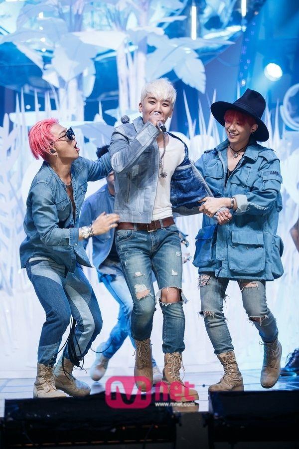 BIGBANG Taeyang, Seungri, and G-Dragon