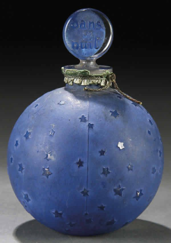 Rene Lalique Dans La Nuit Perfume Bottle | Lalique perfume