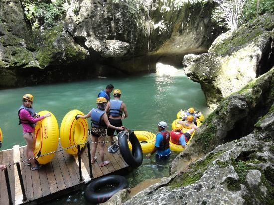 Cave Tubing with Vitalino Reyes  In Belize City, Belize