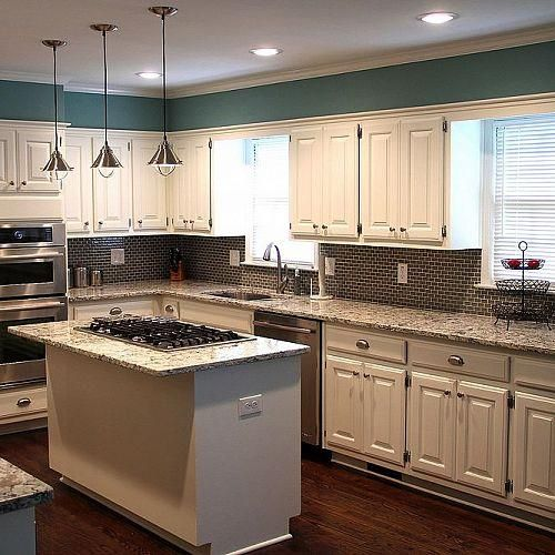 99 best images about kitchen on pinterest for Sample kitchen color schemes