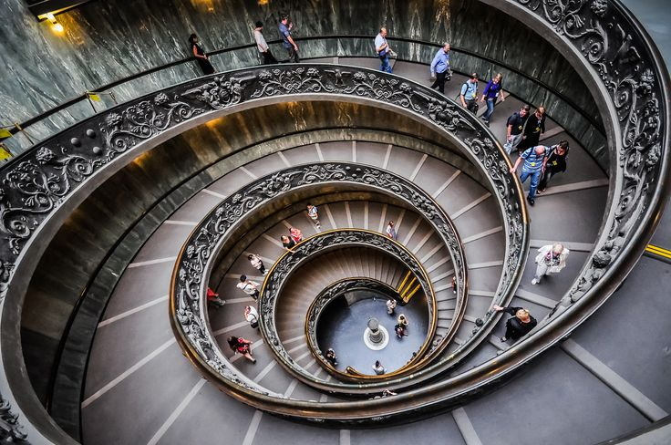 The Spiral Stairs of Vatican Museums by Erhan Meço on 500px