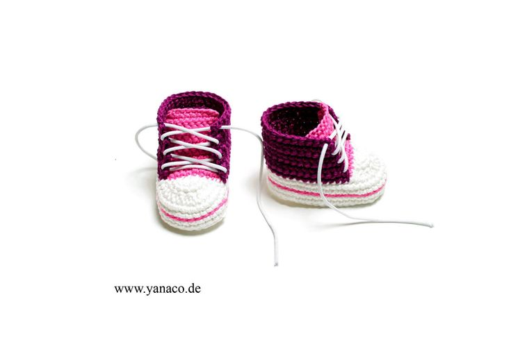 12,99€, Babyschuhe Mädchen,Babyshoes,crochet, gehäkelt, DIY