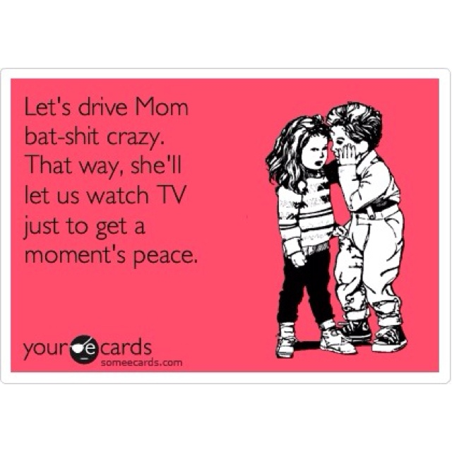 haha- I think my kids do this!!