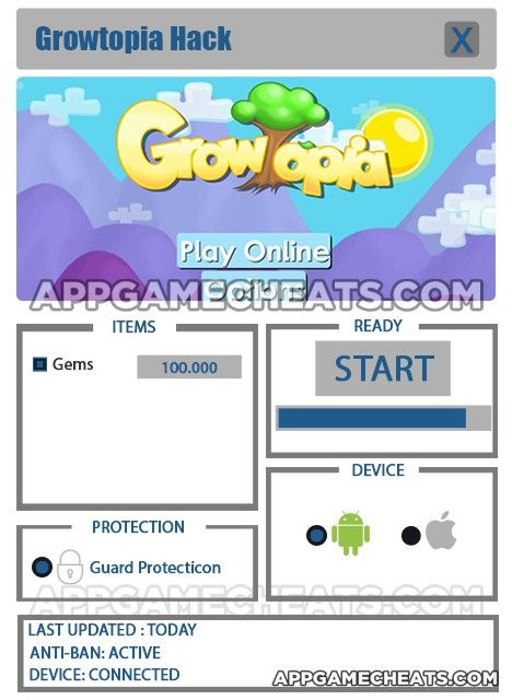 Growtopia Hack & Cheats for Gems - New Hack Updated  #Adventure #Growtopia #Strategy http://appgamecheats.com/growtopia-hack-cheats-for-gems-new-hack-updated/