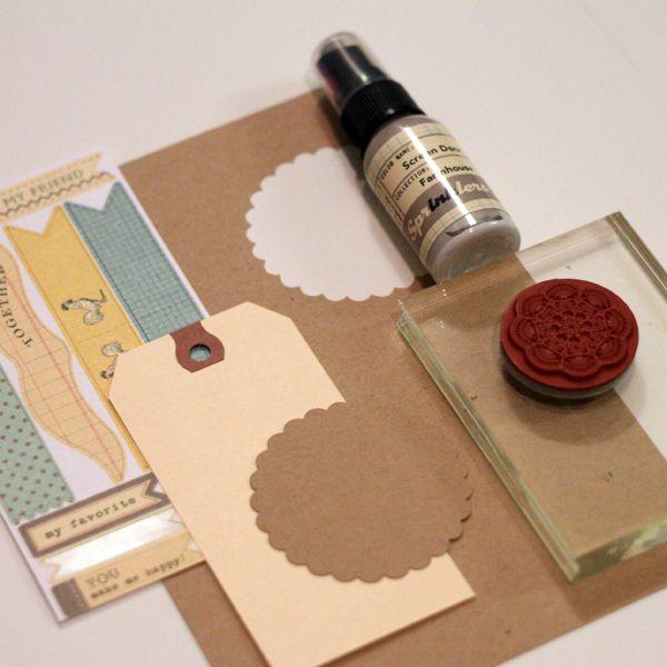 Misting, Masking, & Stamping