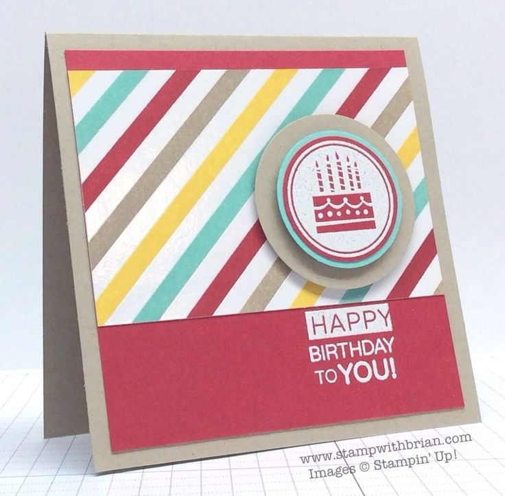Amazing Birthday, Irresistibly Yours, Stampin' Up!, Brian King
