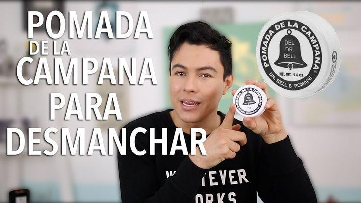DESMANCHAR LAS AXILAS Y LA CARA CON POMADA DE LA CAMPANA | YASMANY - YouTube