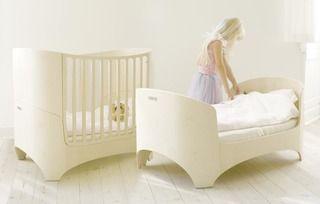 Tulip Leander Convertible Crib with Mattress   2Modern Furniture & Lighting