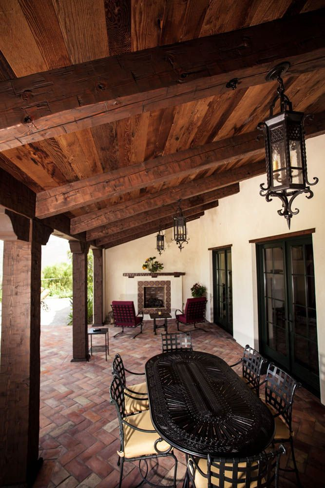 Outdoor Wood Ceiling Ideas