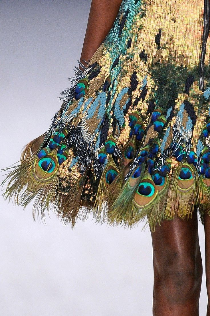 Cupro Skirt - Peacock Feather Skirt by VIDA VIDA Clearance The Cheapest Fashionable Online Low Price Fee Shipping Online 2UppGiqaCQ