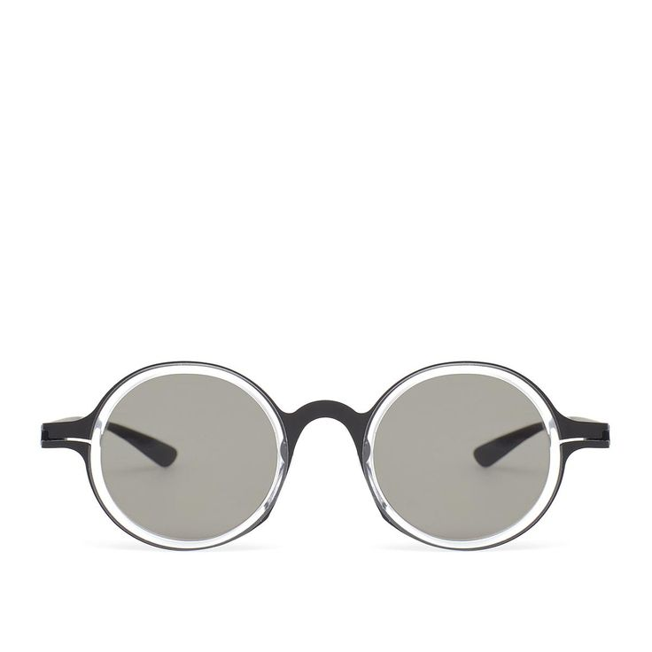 DD02 sunglasses from Mykita collection in collaboration with Damir Doma in black