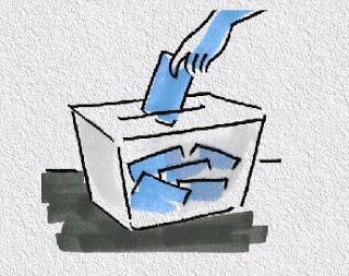 Votar en elecciones populares