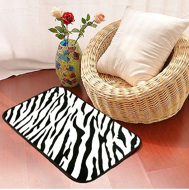 1000+ Images About Zebra Print Area Rug On Pinterest