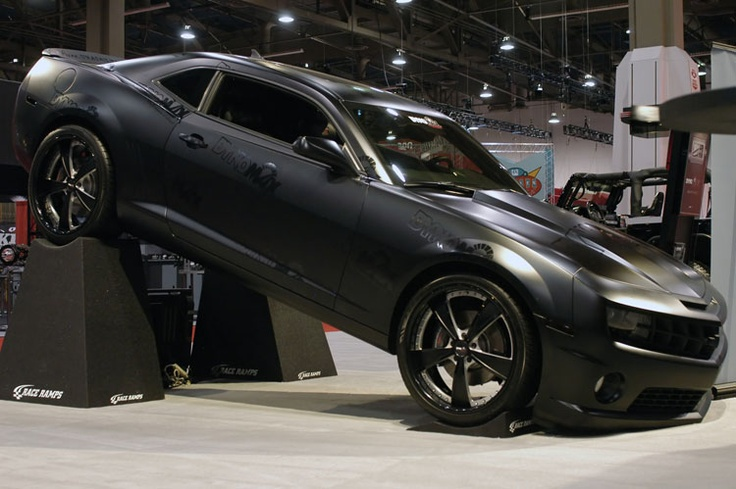 RCH Makes a Bold Appearance at SEMA With 2010 Chevy Camaro SS and 2007 Jeep Wrangler http://www.knfilters.com/news/news.aspx?ID=3037