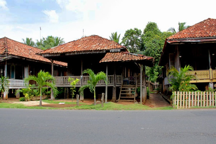 RUMAH SESSAT, traditional house at Lampung, Indonesia