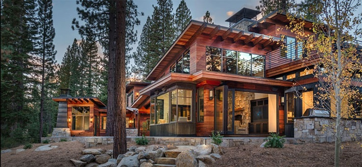 7 best mountain contemporary images on pinterest for Lake tahoe architecture firms